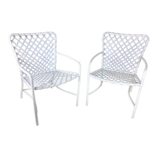 Brown Jordan Tamiami Dining Chairs - Pair