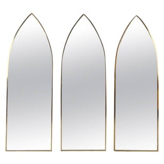 Mid-Century Arch Mirrors - Set of 3