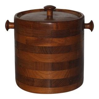 Mid-Century Teak Ice Bucket