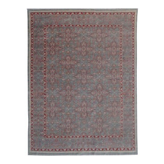"Aara Rugs Inc. Hand Knotted Turkish Oushak Rug - 11'7"" X 8'11"""