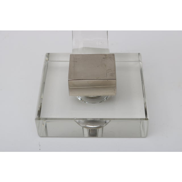 Polished Chrome Trim Candle Holders - A Pair - Image 8 of 9