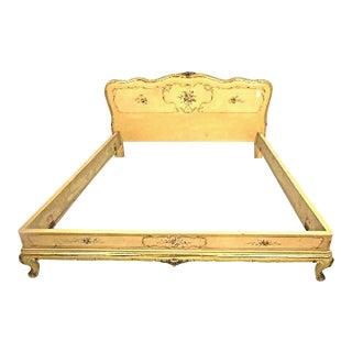 Antique Queen Florentine Bedframe