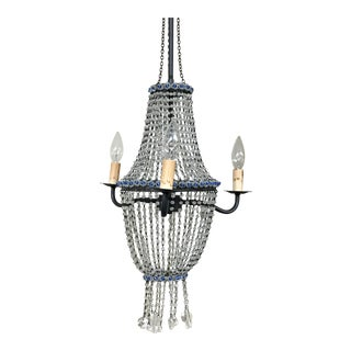Currey & Company Crystal Beaded Chandelier