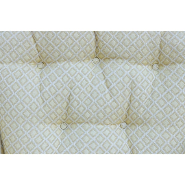 Mid Century Style Cream Club Chairs, A Pair - Image 5 of 9