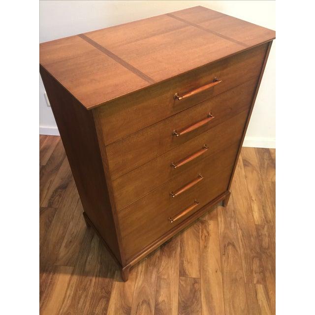 Heritage Henredon Mid-Century Highboy Dresser - Image 10 of 11