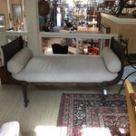 Image of French Metal & Linen Daybed