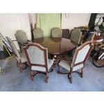 Image of 19th C. Walnut & Stellar Parq Nook Table -Set of 9