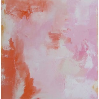 Original Abstract Acrylic Painting - Pink 1