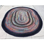 Image of Early 20th Century Large Room Size Braided Rug