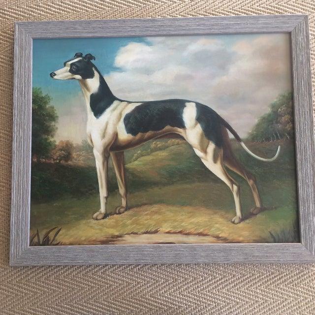 Greyhound Dog Painting - Image 4 of 4