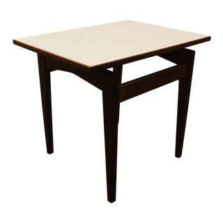 Jens Risom Vintage Danish Floating Top Side Table