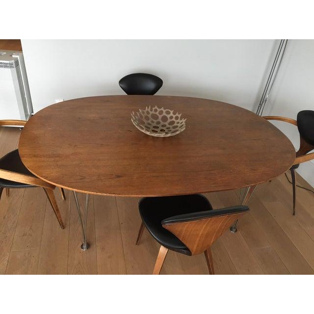 Piet Hein Bruno Mathsson Ellipse Dining Table - Image 4 of 8