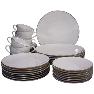 Lenox Cream Dinnerware - Set of 49