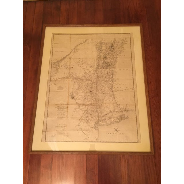 Antique Map of New York Province - Image 2 of 9