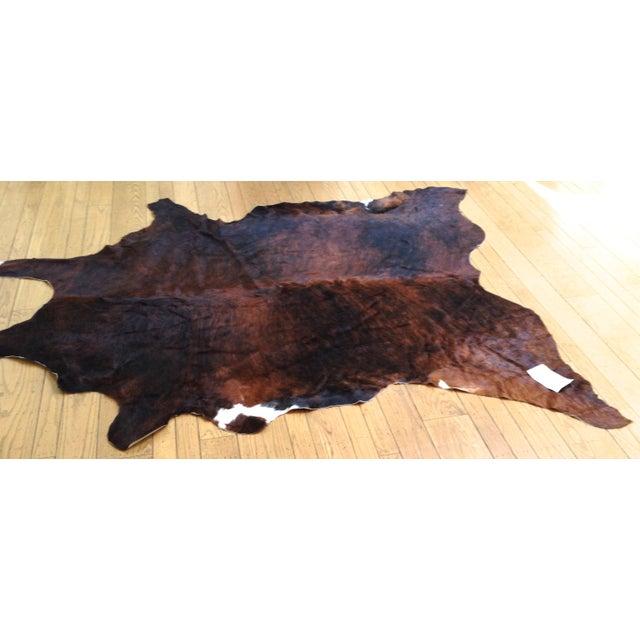Hide Rug - XL Brindle Brown - Image 2 of 2