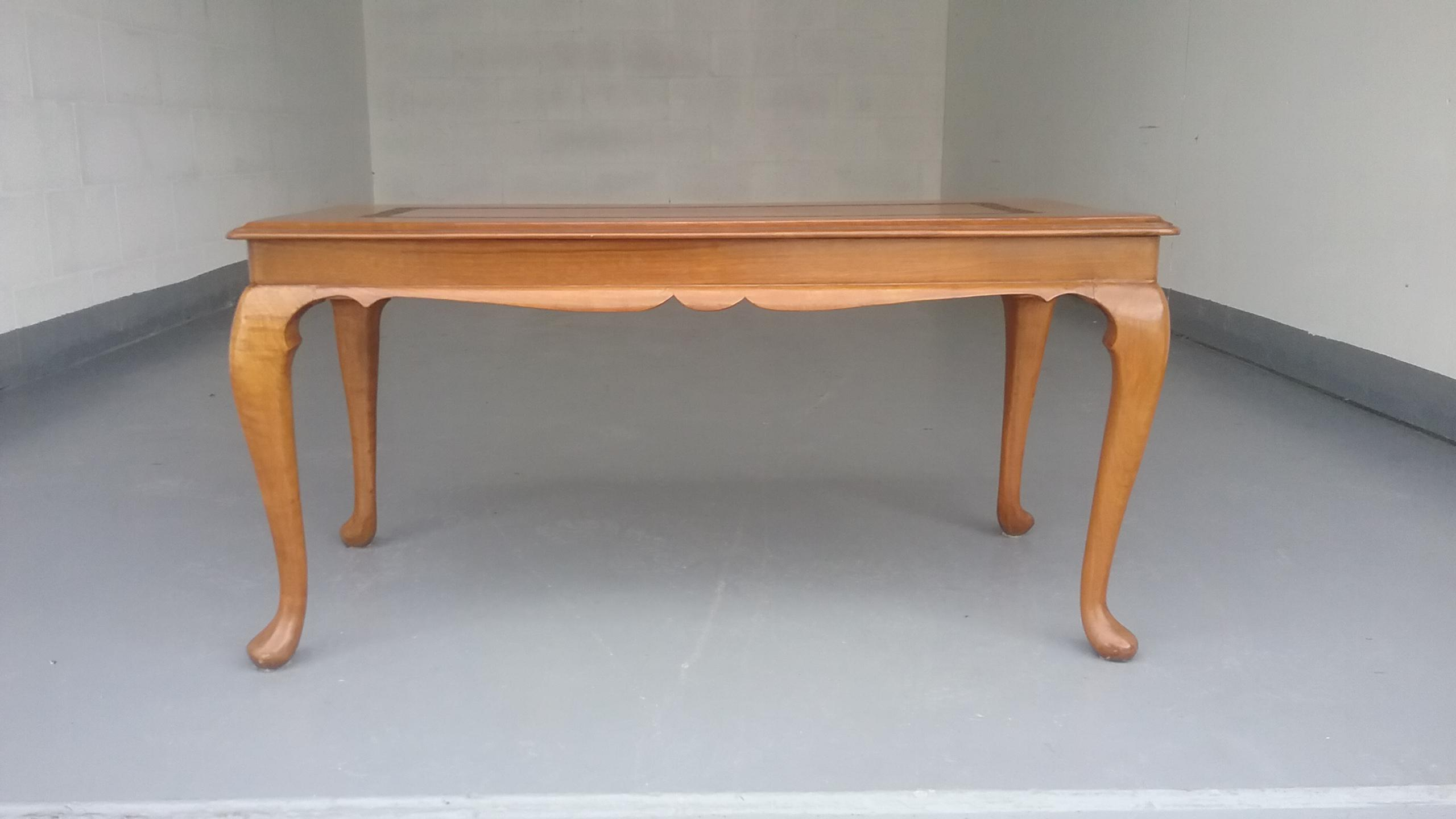 Vintage French Provincial Coffee Table With Handcrafted Designs