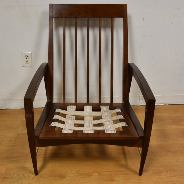 Image of Mid Century Modern Lounge Chair