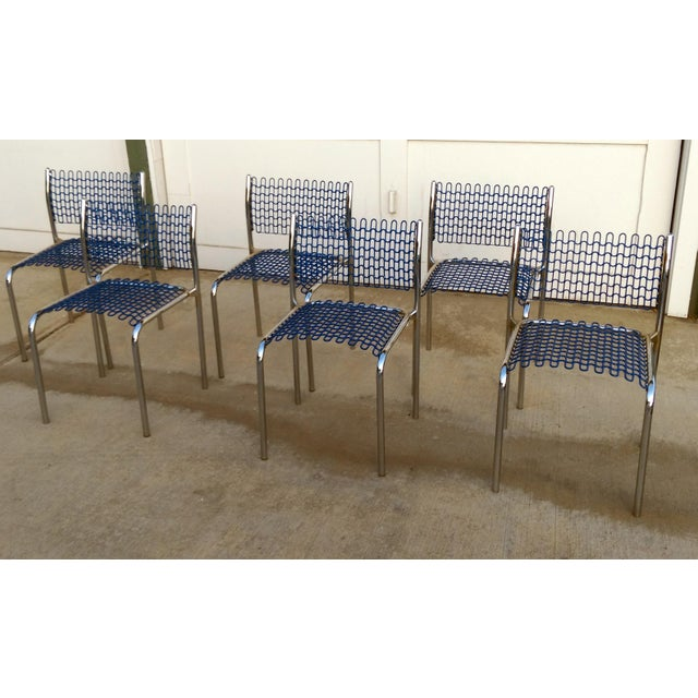 Thonet Sof-Tech Side Chairs by David Rowland - Set of 6 - Image 5 of 12