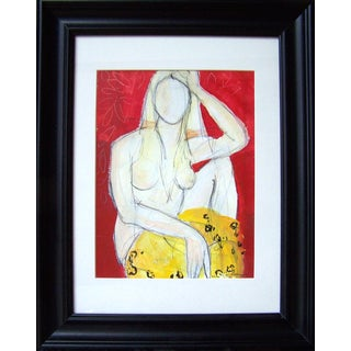 'Woman in Red' Original Painting