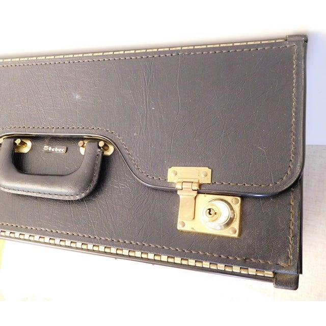 Image of Vintage Black Stebco Briefcase