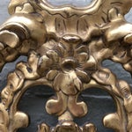Image of Italian Gilt Wood Mirror