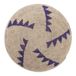 Purple Step Pattern Basket