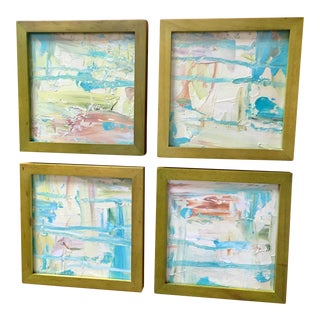 Original Abstract Paintings - Set of 4