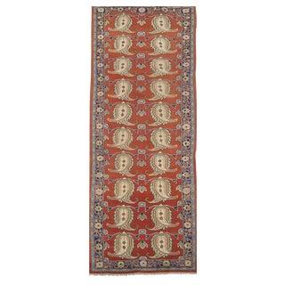 Vintage Persian Mahal Rug - 3′4″ × 11′2″