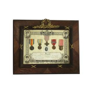 Souvenir De La Grande Guerre 1914/1918 Wwi Soldier Plaque