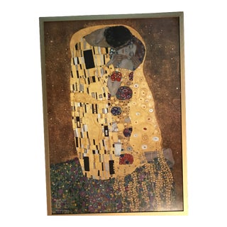 "Gustav Klimt ""The Kiss"" Framed Print"