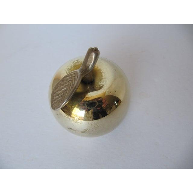 Vintage Brass Apple Bell - Image 3 of 6