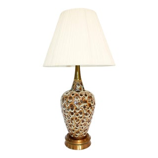 Vintage Danish Modern Drip Lava Lamp