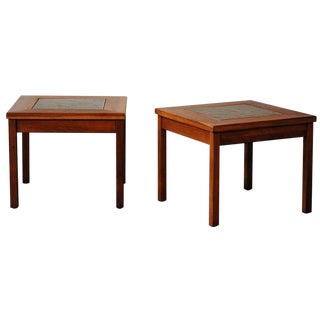 John Keal Side Table - Pair