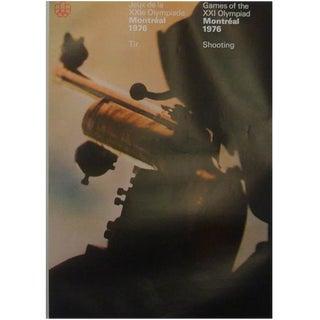 1976 Montreal Olympics Shooting Poster
