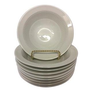 Adams Ironstone Cereal Bowls - Set of 8