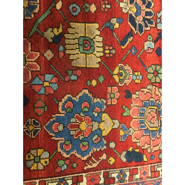 "Vintage Bellwether Rugs Persian Bactiari Area Rug - 6'9""x10'2"" - Image 9 of 11"