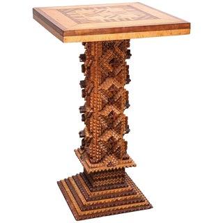 Early 20th Century Folk Art Table