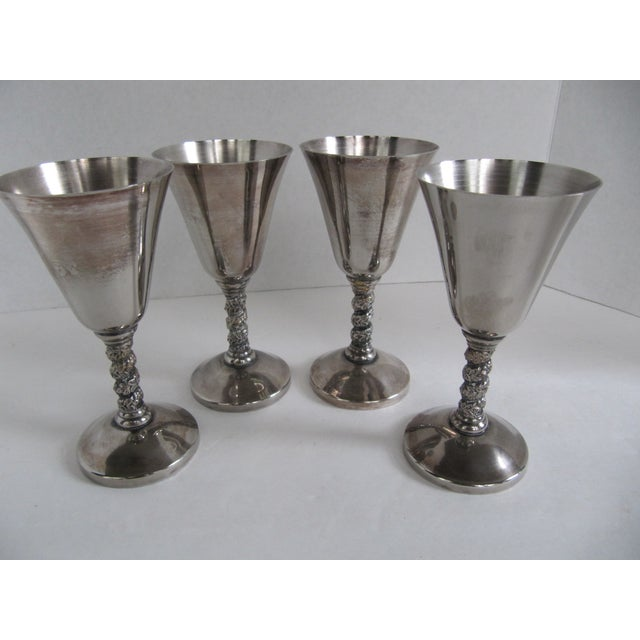 Silver-Plate Glasses/Coaster & Cheese Dome - 7 - Image 10 of 10