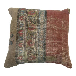 Persian Camel Rug Pillow