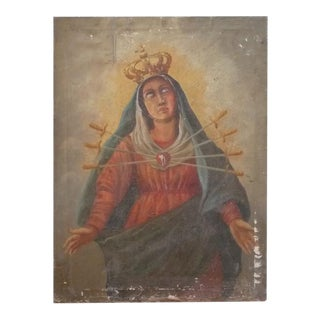 Our Lady of Sorrows Painting