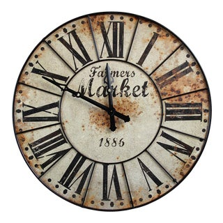 Giant Farmers Market Clock