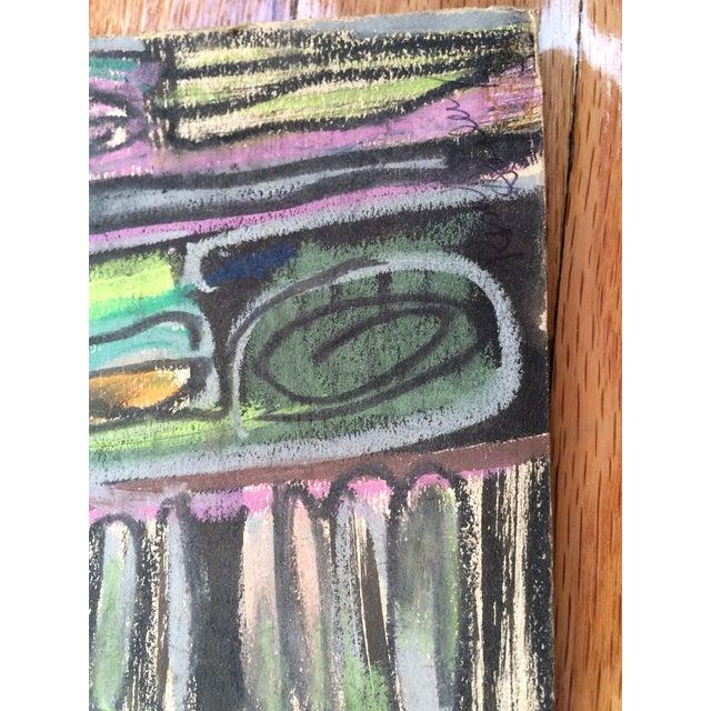 Pastels on Board Modern Art Interiors - Image 7 of 7