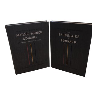 Modern Painting Illustration Books - A Pair