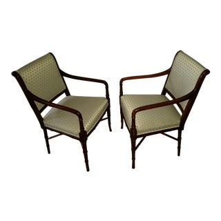 English Regency Style Side Chairs - a Pair