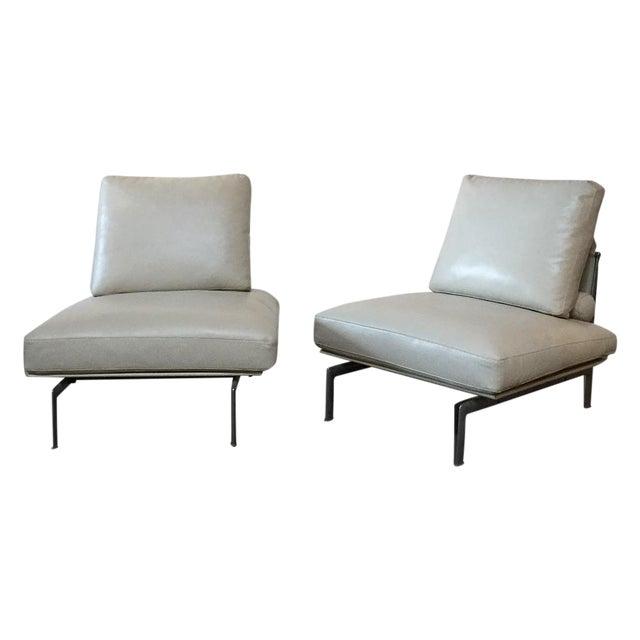 B B Italia Diesis Lounge Chairs A Pair Chairish