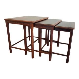 Toften Mobelfabrik Vintage Danish Nesting Tables - Set of 3
