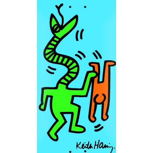 Image of Keith Haring Rare Skate Deck