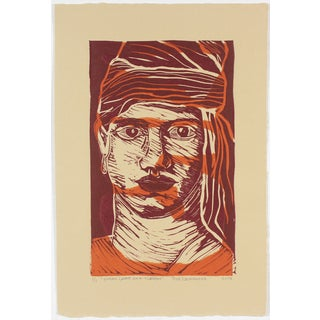 """Duncan Grant in a Turban"" Print by Rob Delamater"