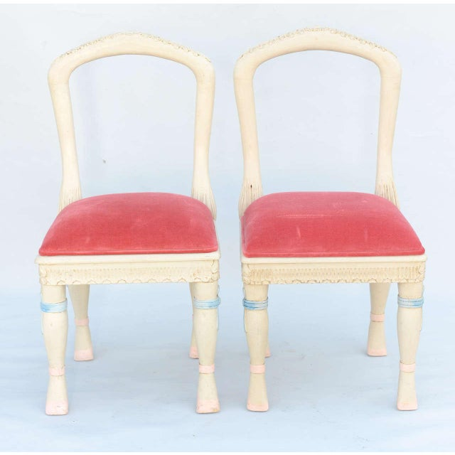 Set of Four Ballerina Side Chairs - Image 7 of 10