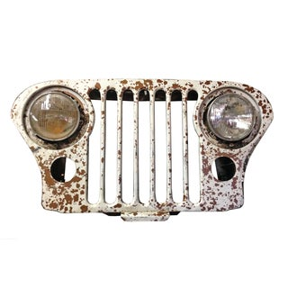 Vintage Willy's Jeep Grill